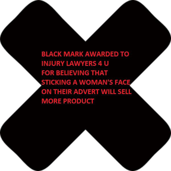 black mark INJURY LAWYERS 4 U