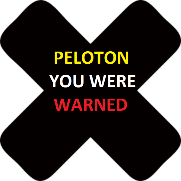 black mark PELOTON#2