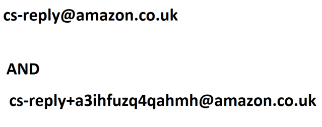 CUSTOMER SERVICES EMAIL ADDRESSES